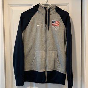 Nike Team USA zip up sweatshirt.